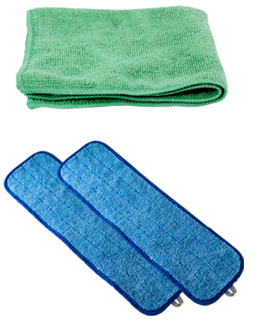 Cleaning Cloths: Economy Linen Hospital Services